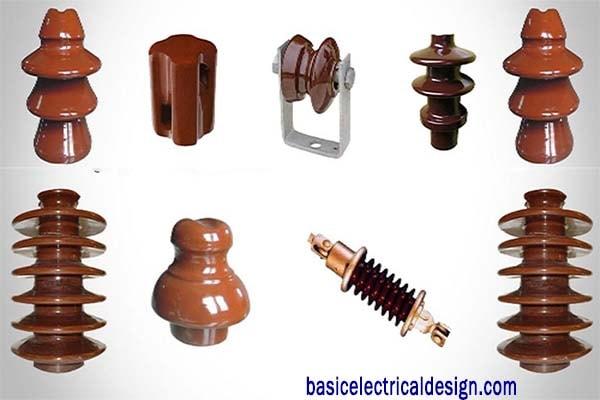 Types of Insulators - Overhead power line Insulator